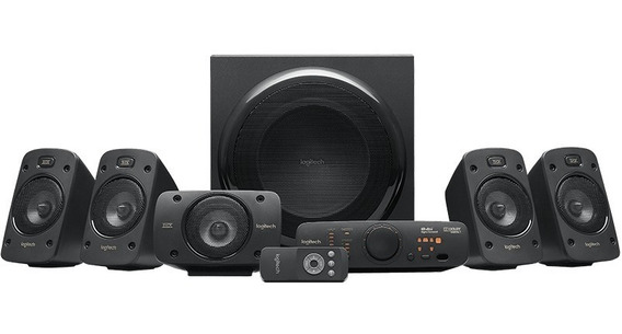 Sistema De Sonido Logitech Z906 Surround 5.1 / Thx Dolby Dts