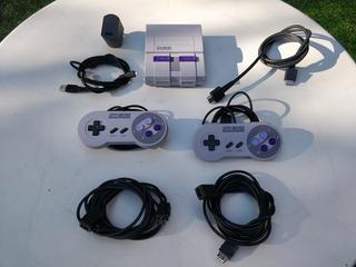 Super Nintendo Classic Edition + Alargue De Joystick. Oferta
