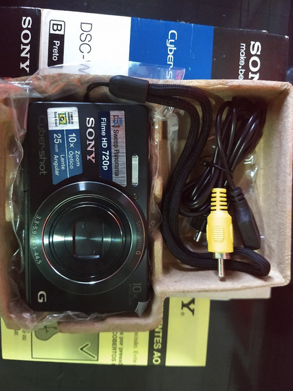 Câmera Fotográfica Sony Dsc-w690 16.1mp