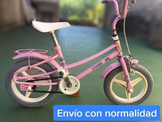 Bicicleta De Niño Rodado 12 Marca Caloi