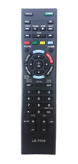 Controle Remoto Tv Sony Bravia Led Smart Rm-yd101 Netflix