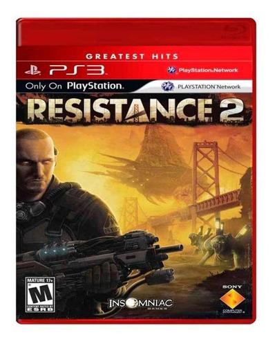 Resistance 2 Ps3 Mídia Física Novo Lacrado