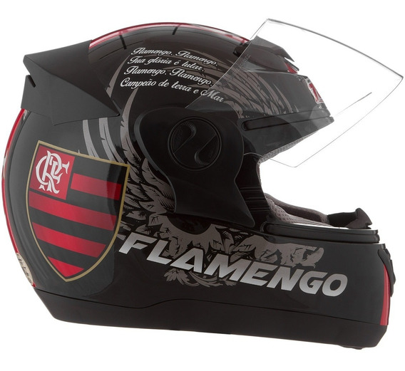 Capacete Evolution G4 Clube De Regatas Flamengo Oficial