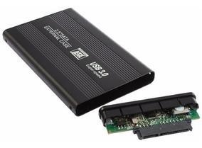 Case 2,5 + Hd 500gb Toshiba Novos