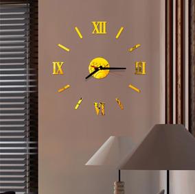 Relógio De Parede Decoração Sala Escritório Num Romanos 180