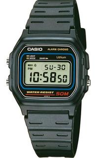 Reloj Casio Digital W-59-1v 50m Retro Sumergible