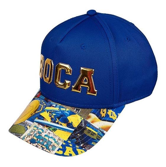Gorra Visera Sublimada Club Atletico Boca Juniors