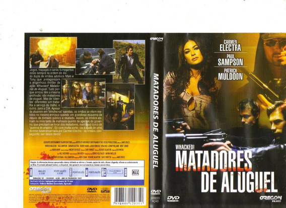 Dvd Matadores De Aluguel, Carmen Electra - Ação - Original