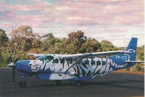 Cartao Postal Aviao Cessna Caravan - Aero Express (a/i?)