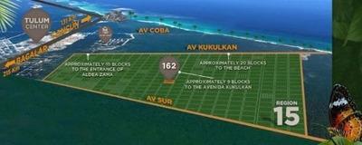 Terrenos En Tulum , Con La Mejor Ubicación, Construye La Casa De Tus Sueños.