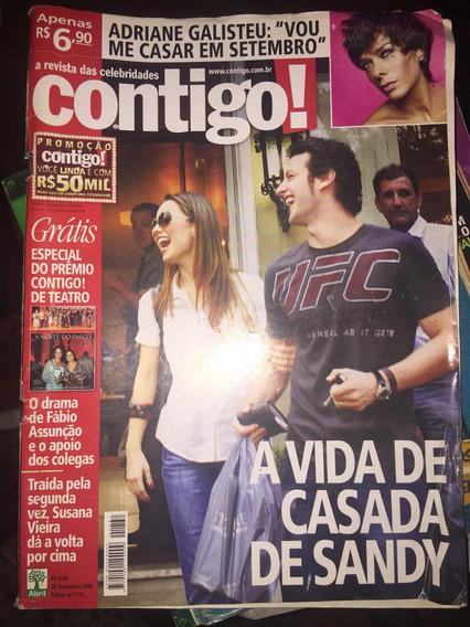 Sandy - Revista Contigo (2008) Ed. 1732