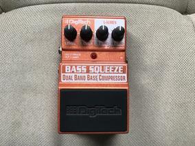 Pedal Compressor Bass Squeeze Dual Band - Digitech