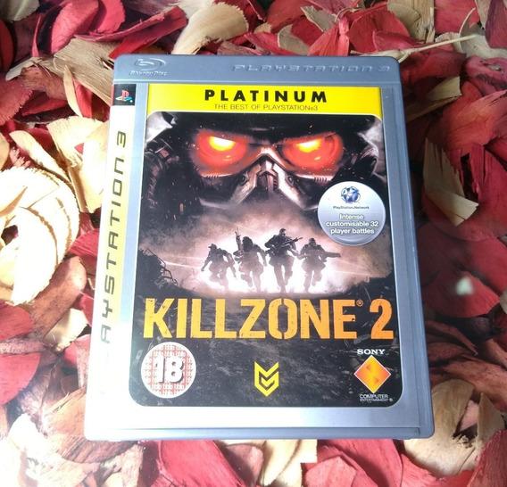 Killzone 2 - Mídia Física Impecável Ps3