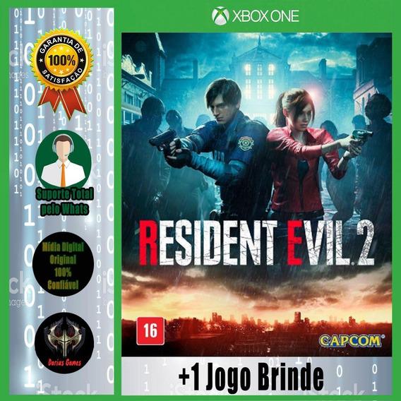 Resident Evil 2 Xbox One Midia Digital +1 Jogo Brinde