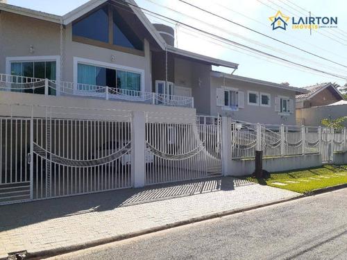 Casa Com 3 Dormitórios À Venda, 500 M² Por R$ 1.850.000,00 - Vila Petrópolis - Atibaia/sp - Ca1251