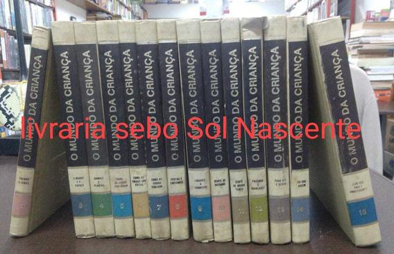 Coleçao O Mundo Da Criança 13 Volumes Editora Delta