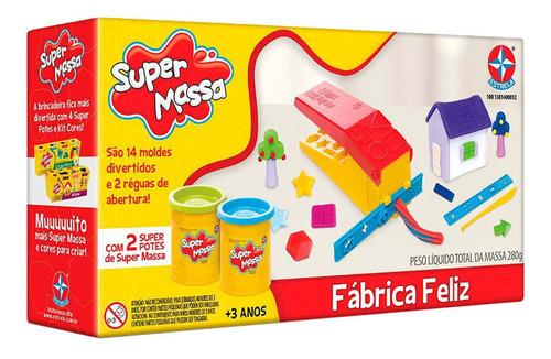 Imagem 1 de 5 de Super Massa Fábrica Feliz - Estrela