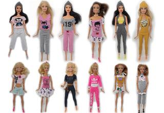 50 Conjuntos Ropita De Barbie + 50 Zapatitos + Envio Gratis