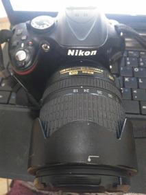 Câmera Nikon D5200 + Lente 18-135mm