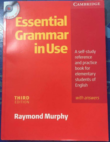 Livro Essential Grammar In Use - Third Edition - Com Cd