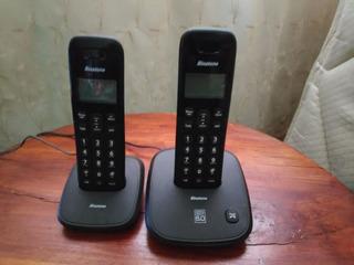 Par De Teléfonos Binatone Inalámbricos