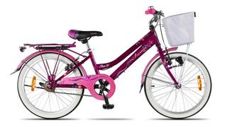 Bicicleta Aurora Rodado 20 Nenas Ona + Linga De Regalo Envió Gratis A Todo El País