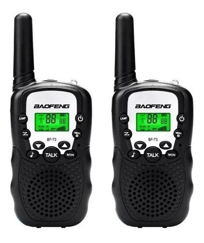 Walkie Talkie Handy Intercomunicadores 1 A 3 Km 10 Tonos ®