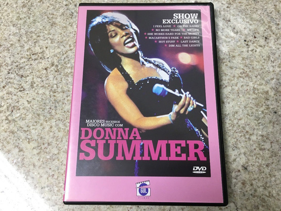 Dvd Donna Summer Show Exclusivo Maiores Sucessos Original