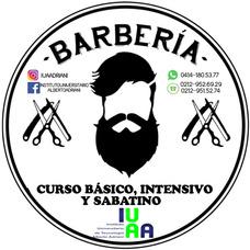 Curso De Barbería Básico, Intensivo Y Sabatino.