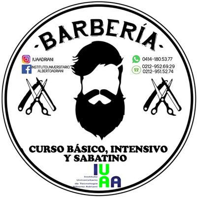 Curso De Barbería Intensivo O Sabatino.