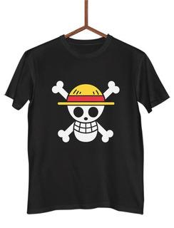 Camisa Camiseta Bandeira Luffy One Piece Mugiwara G0433