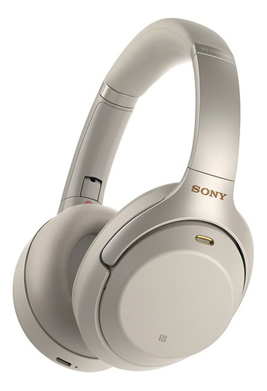 Headphone Sony Wh-1000xm3 Com Noise Cancelling Prata