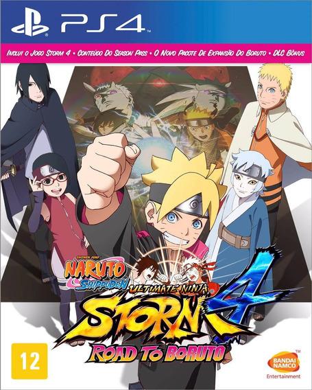 Naruto Shippuden 4 Road Boruto Ps4 Mídia Física Pt Ultimate