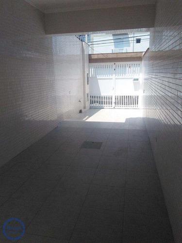 Casa Com 3 Dorms, Campo Grande, Santos - R$ 720 Mil, Cod: 10641 - V10641