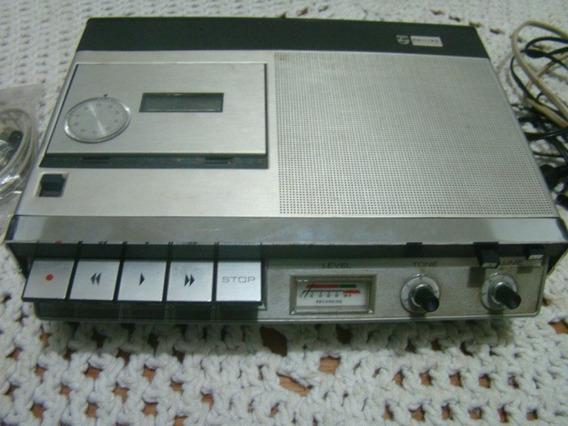 Gravador Cassete Philips N2205 Made Holland , P/ Conserto
