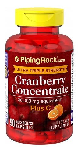 Ultra Cranberry + Vitamina C 15,000 Mg 90 Capsu Antioxidante