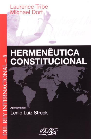 Hermenêutica Constitucional Del Rey Internacional 8