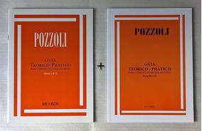 Kit Guia Teórico-prático Pozzoli Partes 1 E 2, 3 E 4 Ditado