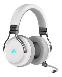 Auriculares inalámbricos Corsair Virtuoso RGB Wireless white