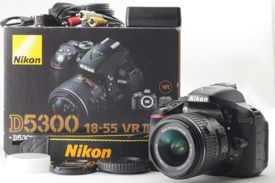 Camera Nikon D5300 Gps Wifi 24.2 Mp 18-55 Dslr Canon D7200