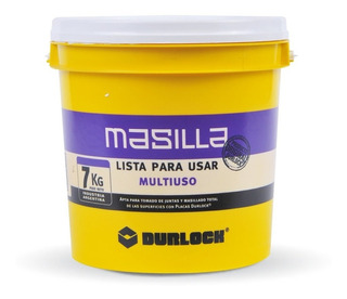 Masilla Placas De Yeso Durlock Multiuso X 7kg Lista Para Usar - Prestigio