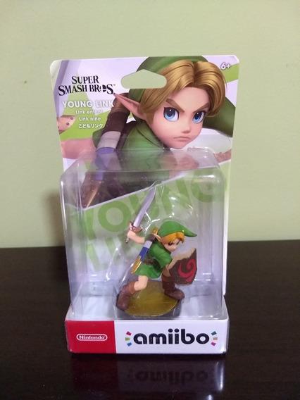 Amiibo Zelda Young Link Super Smash Bros Lacrado Pronta Entrega