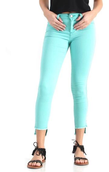 Jeans Oggi Mujer Chelo Verde
