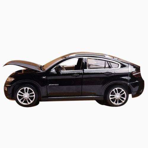 Auto De Coleccion Bmw X6 Pull Back 1:26 Msz Con Luz Y Sonido