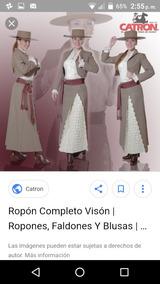 Se Vende Vestido De Huasa Elegante
