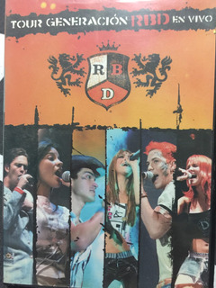 Dvd Rbd Tour Generacion