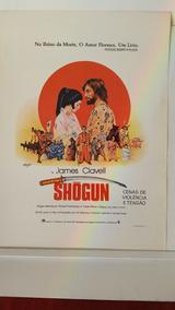 Cartazete Original Filme Shogun 1981 Elenco Sinopse