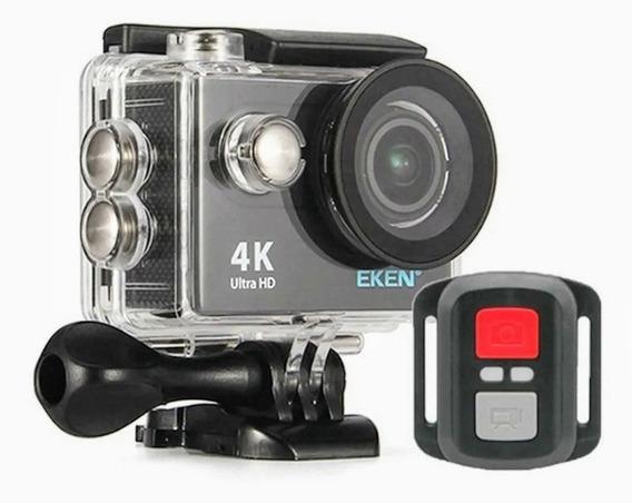Câmera Eken H9r Original 4k Wi-fi C Controle - À Prova Dágua