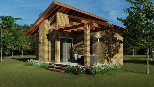 Construção De Casa Com Tijolos Ecológico