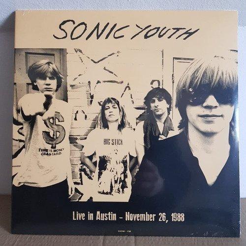 Sonic Youth Live In Austin 1988 Vinilo Nuevo Musicovinyl